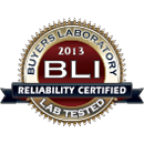 2013 Reliability Certified